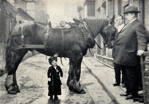 Die kelinste Dame Londons 1912